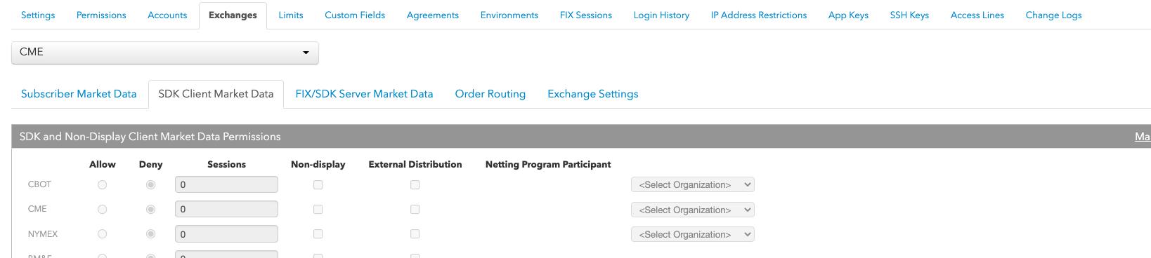 Enabling Client Entitilements